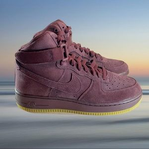 New AIR FORCE ONE HIGH LV8 (GS) BIG KIDS